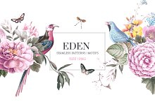 EDEN, Essence of elegance. by  in Patterns