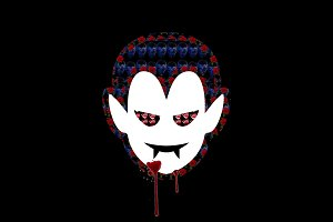 Vampire t-shirt design