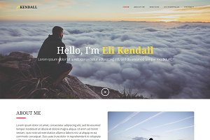 Kendall - Freelancer Template