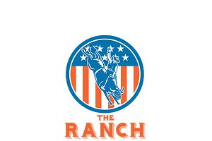 The Ranch American Steakhouse Logo