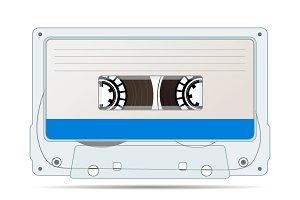 Realistic audio cassette