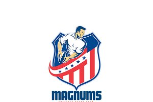 Magnums Rugby of America Logo