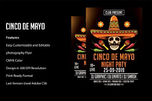 Flyer Cinco de Mayo