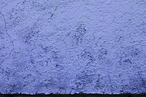 Dark Blue Peeling Paint