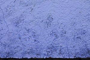 Dark Blue Peeling Paint