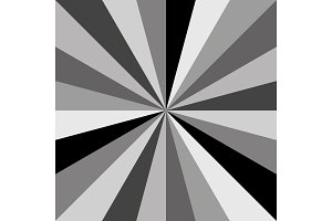 Gray Sunburst background vector