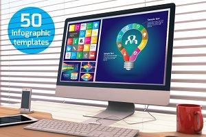 50 Infographic Templates + Bonus