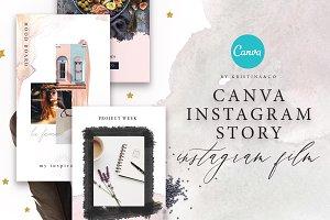 Canva | Instagram film template