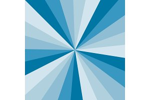 Blue Sunburst background vector