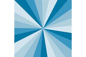 Blue Sunburst background vector