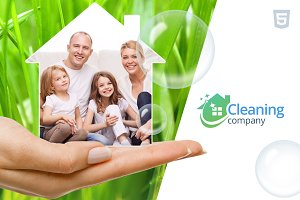 Cleaning Services HTML template