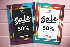 Abstract Sale Flyer