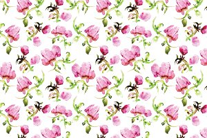 2 tile peony patterns