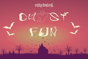 Ghost Fun Font Collection