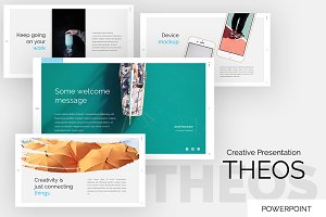 Theos Creative Powerpoint Template