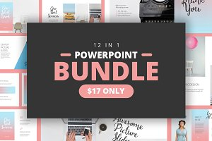Bundle 12 in 1 Powerpoint