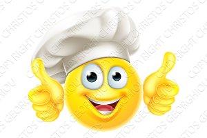 Emoji Chef Cook Cartoon Thumbs Up