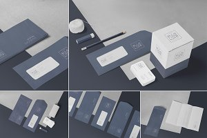 Vertical Envelope Mockups