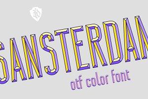 Sansterdam Color Font