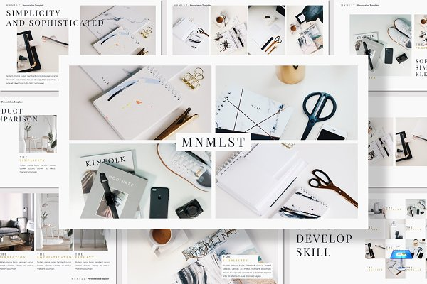 Presentation Templates: deasign - MNMLST - Keynote Template
