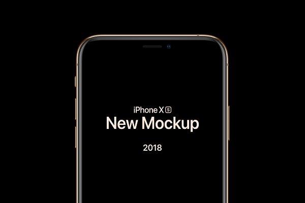 iPhone XS & XS Max Basic Mockup
