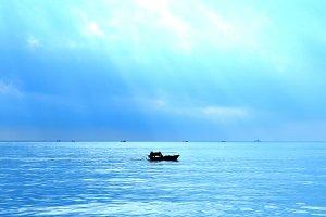 Wall Art Fishing Boats in China