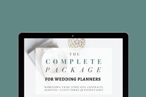 A Complete Package: Wedding Planners