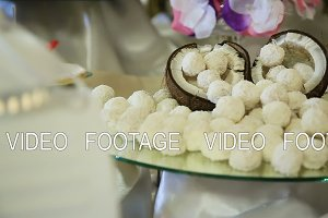 Coconut and coconut candies