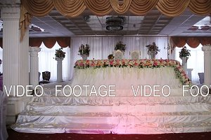 Wedding banquet hall.