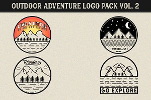 Outdoor Adventure Logos Vol. 2