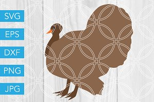 Turkey Cut File for Thanksgiving