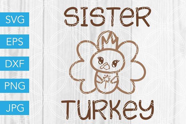 Baby Turkey Svg Pre Designed Photoshop Graphics Creative Market