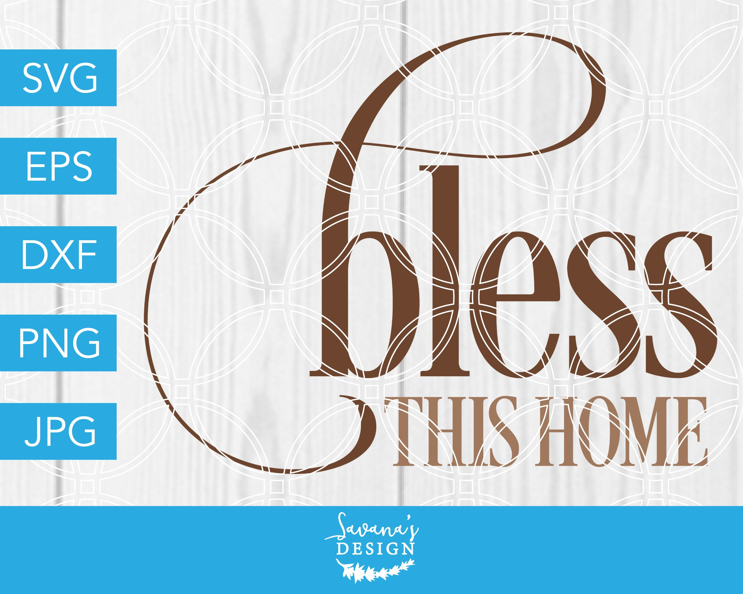 Download Bless This Home Cutting Design Image