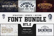 Sports Font Bundle BTL.2