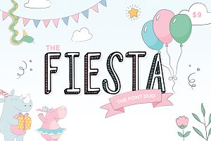 Fiesta Font Duo (ONLY $9)
