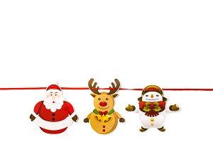 Christmas ornament hanging