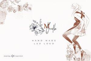 Logos Bundle. Modern Flora.