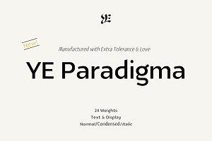 YE Paradigma Font