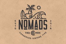 Nomads -The Farmer Original Typeface by  in Sans Serif Fonts