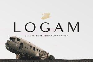 Logam - Luxury Sans Serif