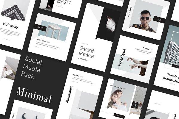 Instagram Templates: GoaShape - Minimal Social Media Pack