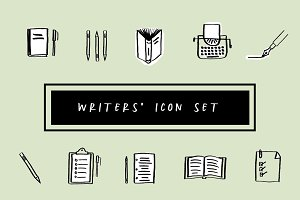 Writers' Icon Set