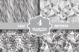 Leaf Seamless Patterns
