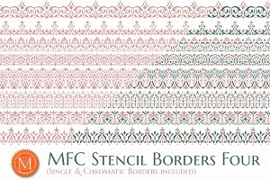MFC Stencil Borders Four