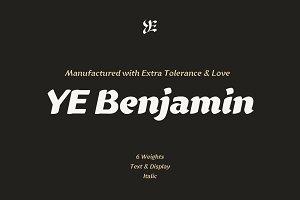 YE Benjamin Font