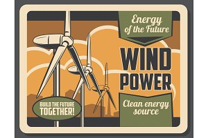 Eco energy green power wind turbine