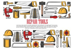 House repair tools and equipment