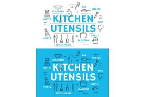 Kitchen utensil and cooking