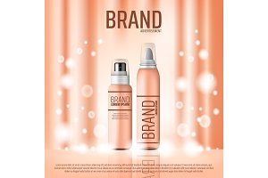 Cosmetic skin care bottle