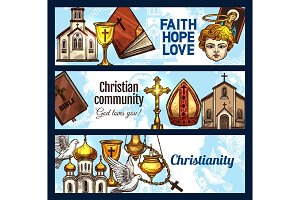 Christianity religion and objects